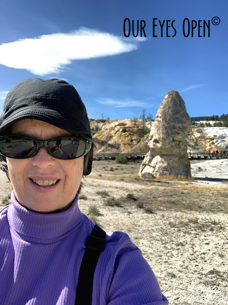 Lisa selfie with Liberty Cap
