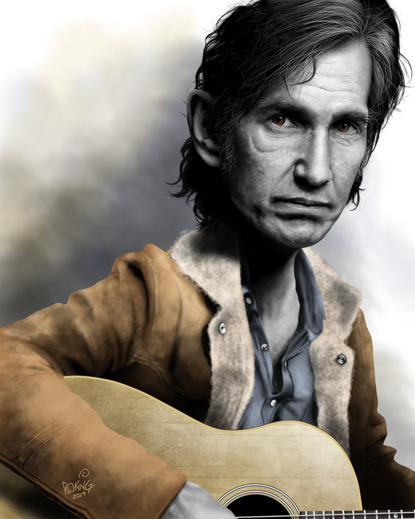 Townes Van Zandt, country music songwriter