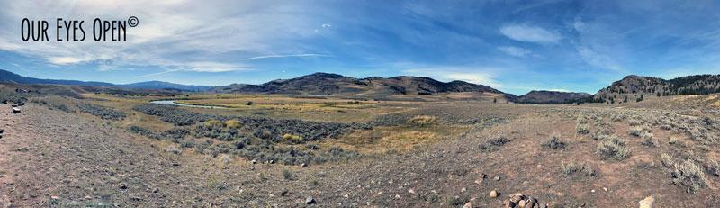 Lamar Valley - Slough Creek - Yellowstone National Park