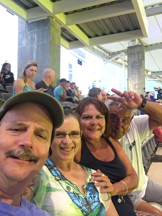 Journey concert 2017 - Daily's Place Amphitheatre in Jacksonville, Florida