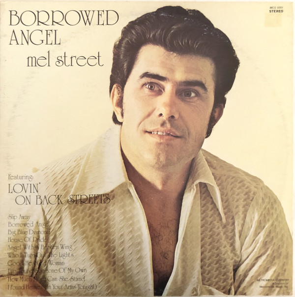 """Borrowed Angel"" album cover by Mel Street."