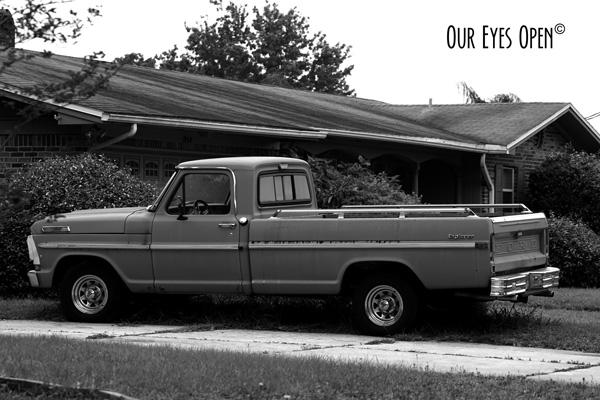Vintage Ford Explorer Pickup Truck.