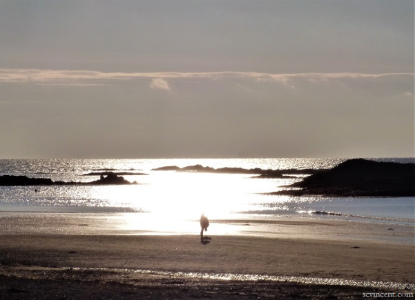 Image of a beach taken by Sue Vincent for #WritePhoto challenge.