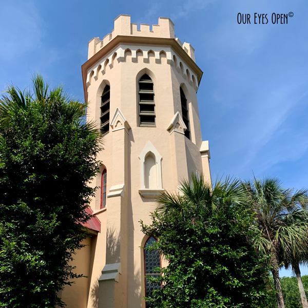 St. Peter's Episcopal Church in Fernandina, Florida.