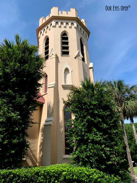 St. Peter's Episcopal Church in Fernandina, Florida.