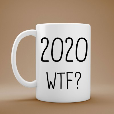 2020 WTF? Coffee Mug on sale in my Etsy shop. https://www.etsy.com/shop/OurEyesOpenDesigns